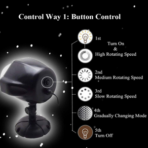 snowflake lighting projector