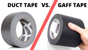 gaffers tape vs duct tape