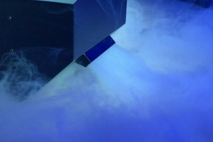 low-lying fog chiller