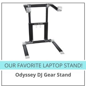 best dj laptop stand