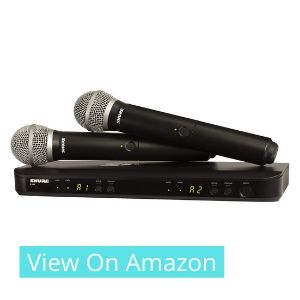 best dual handheld mic set